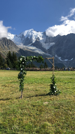 wedding in the alps chamonix