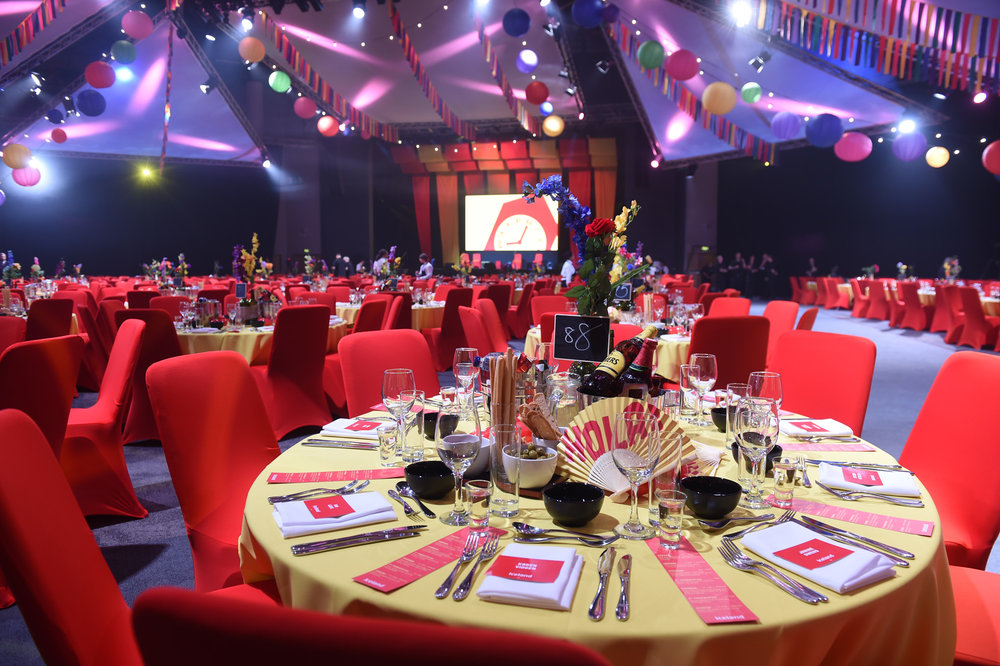 ICC fiesta themed corporate event