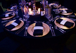 award ceremony table decoration