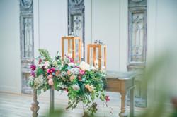 table drawers floral display lantern