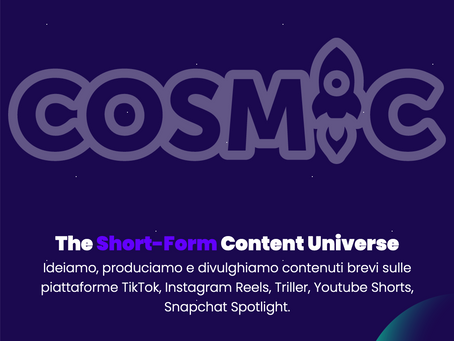 COSMIC - La mia nuova avventura imprenditoriale