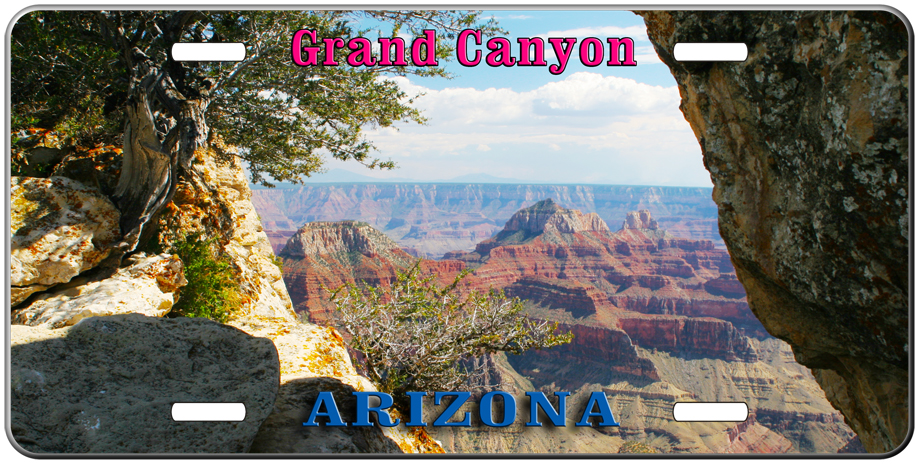 Grand Canyon license plate