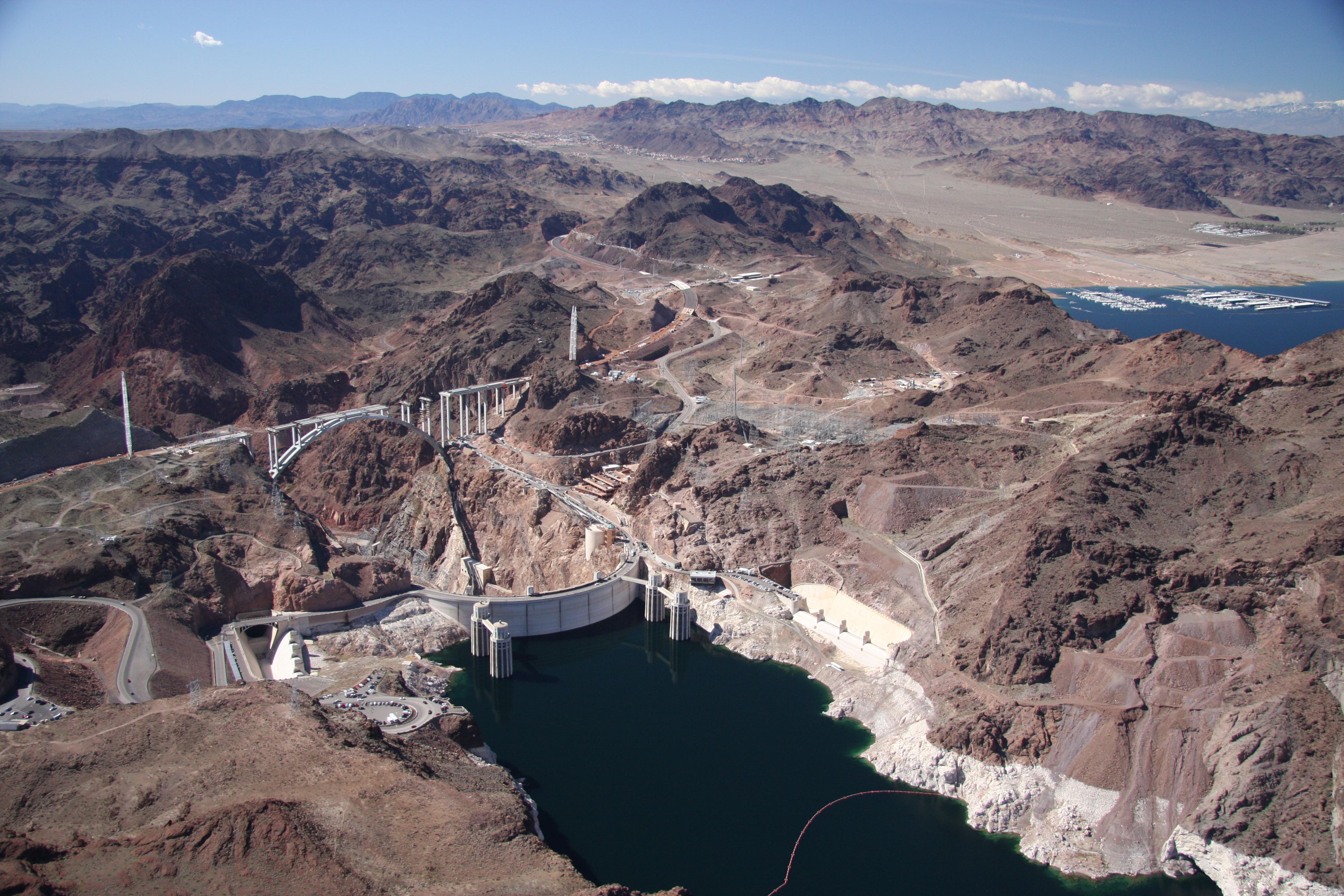 Hoover Dam bridge - 2