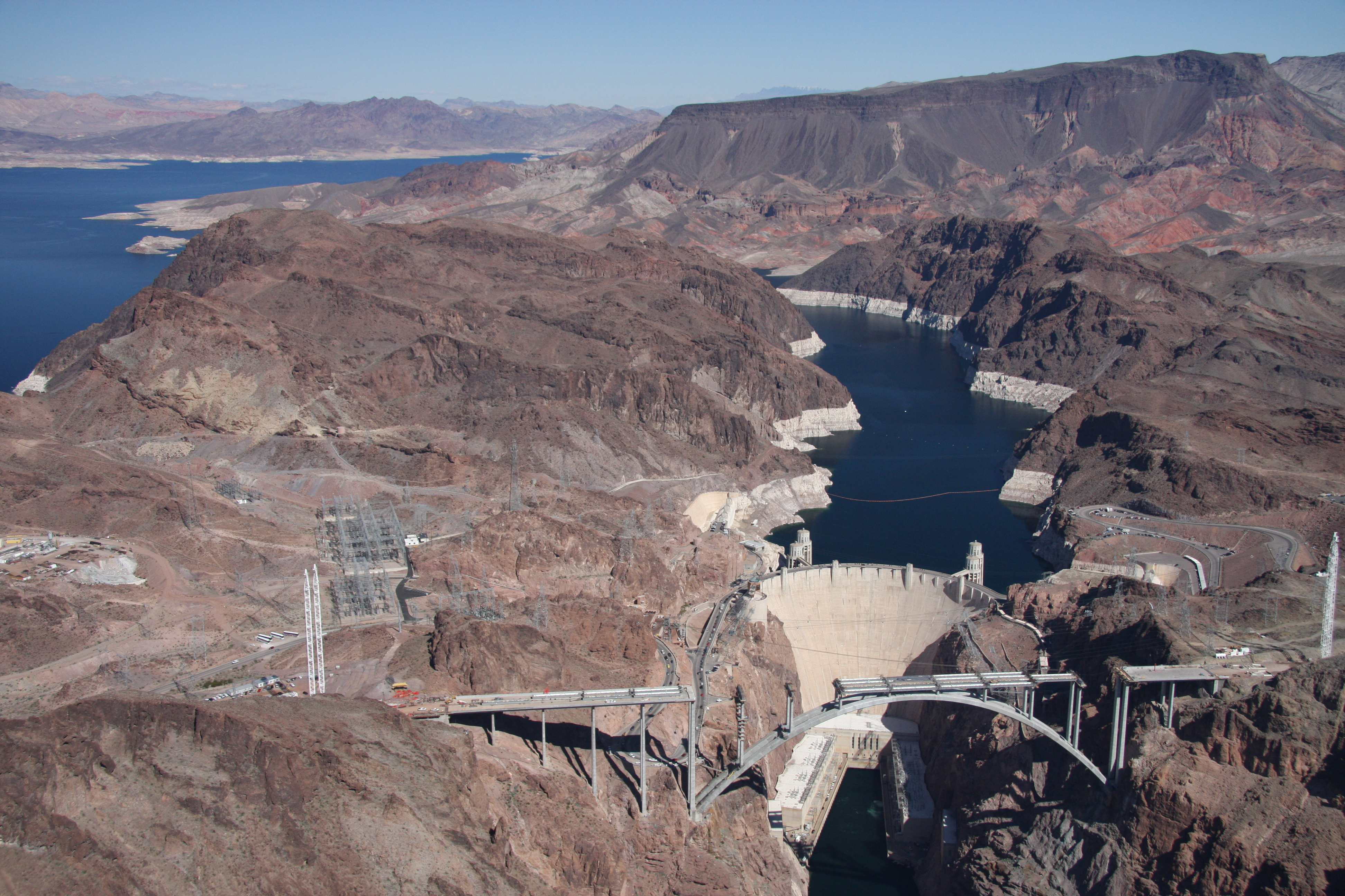 Hoover Dam bridge - 1