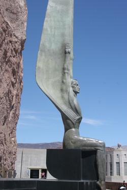 Winged angel Hoover Dam