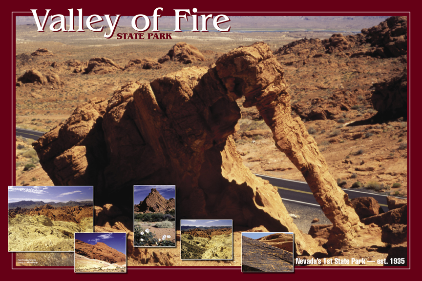 Valley of Fire poster - 1