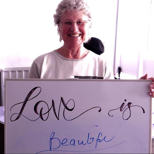 Love is beautiful