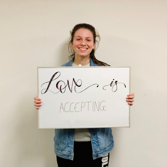 Love is accepting