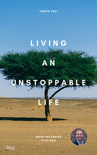 Thrive 2021 Living an Unstoppable Life P