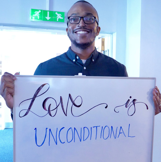 Love is unconditional