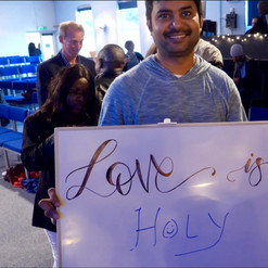 Love is holy