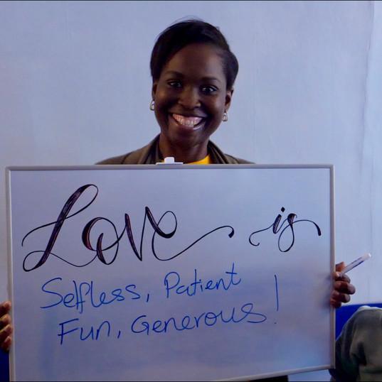 Love is generous