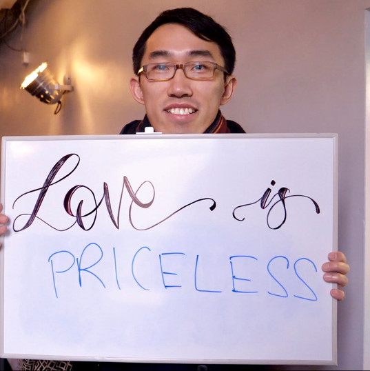 Love is priceless