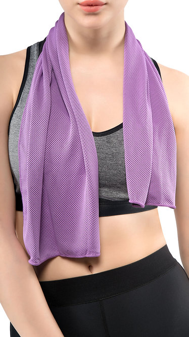 COOLING TOWEL (Light Purple)