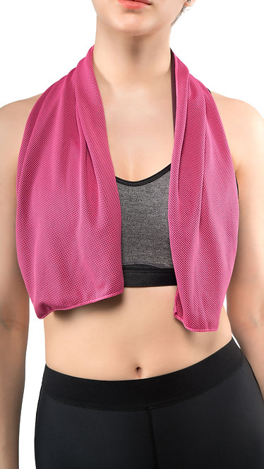 COOLING TOWEL (Rose Red)