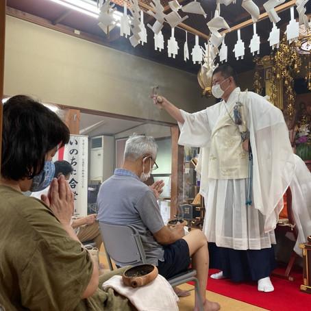 7月19日 頭痛封咒ほうろく祈祷会