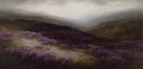 Hills in Changing Light - Sold