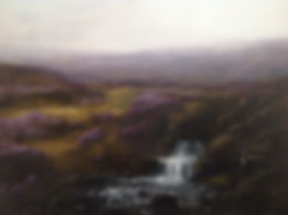 16 Waterfall 36 x 48 ins private collect