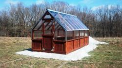 Cedar Framed Green House