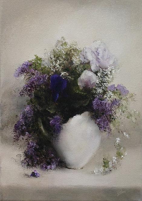 Little Bouquet ii: 11.5 x 8 ins