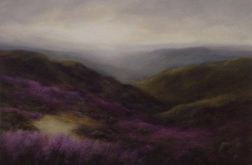 Rocky Moorland Landscape: Sold