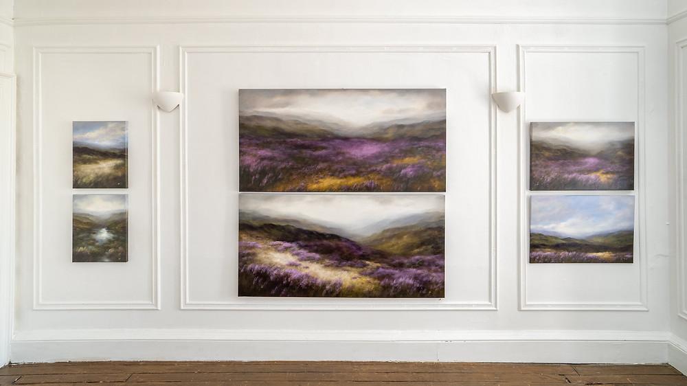 New Paintings in my Studio Gallery