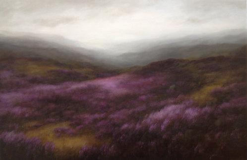 Overgrown Path: 48 x 72 ins