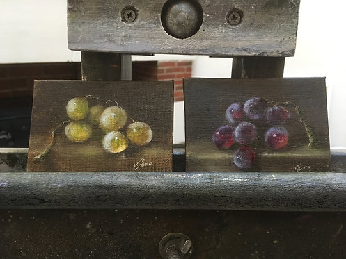 2 Grapes Paintings