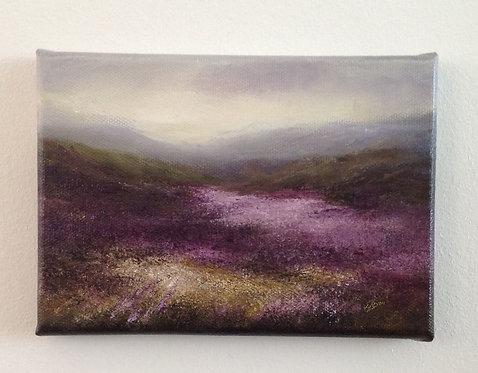 Small Study, Haworth Moor i: 5 x 7 ins