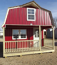red metal lofted cabin.jpg