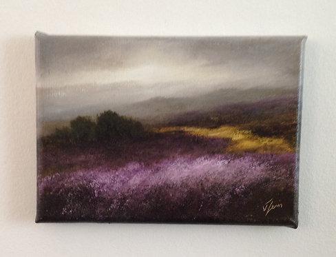 Small Study, Ilkley Moor: Sold