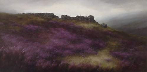 Cow and Calf Rocks: 24 x 48 ins
