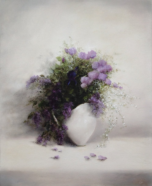 Spring Bouquet: 30 x 24 ins