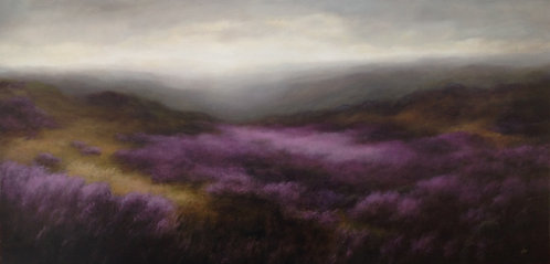 Heather Valley: 30 x 60 ins