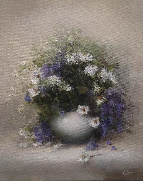 Small Wild Flowers: 10 x 8 ins