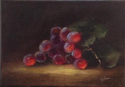 Grapes: 5 x 7 ins