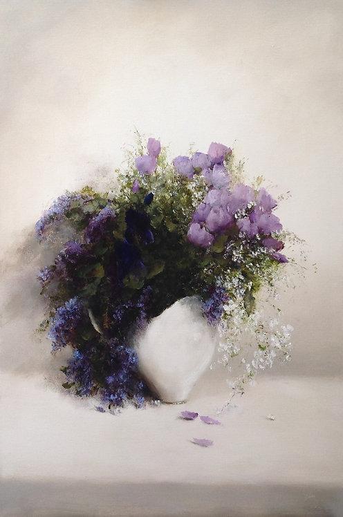 Spring Bouquet: 30 x 20 ins