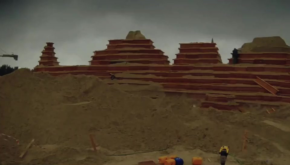 The World's Largest Sand Sculpture Park and Light Show