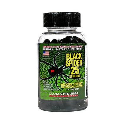 CLOMA PHARMA BLACK SPIDER (100caps)