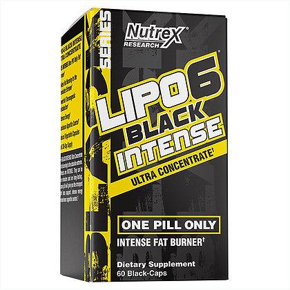 NUTREX LIPO 6 BLACK ULTRA CONCENTRATE INTENSE (60caps)