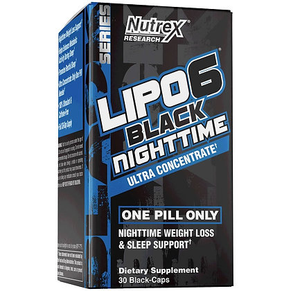 NUTREX LIPO 6 BLACK NIGHTTIME ULTRACONCENTRATE (30caps)