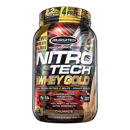 MUSCLETECH NITRO-TECH WHEY GOLD (2,2LB)