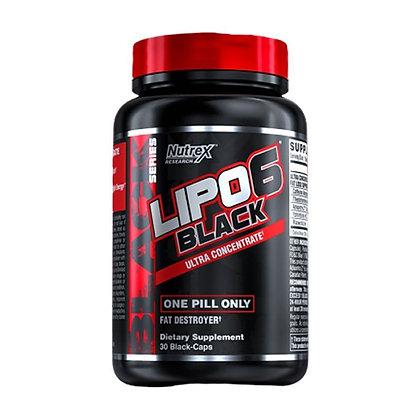 NUTREX LIPO 6 BLACK ULTRA CONCENTRATE (30caps)