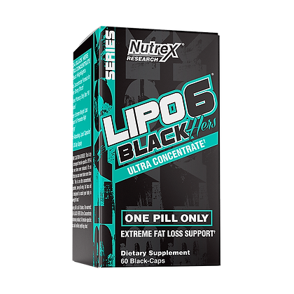 NUTREX LIPO 6 BLACK HERS ULTRA CONCENTRATE (60caps)