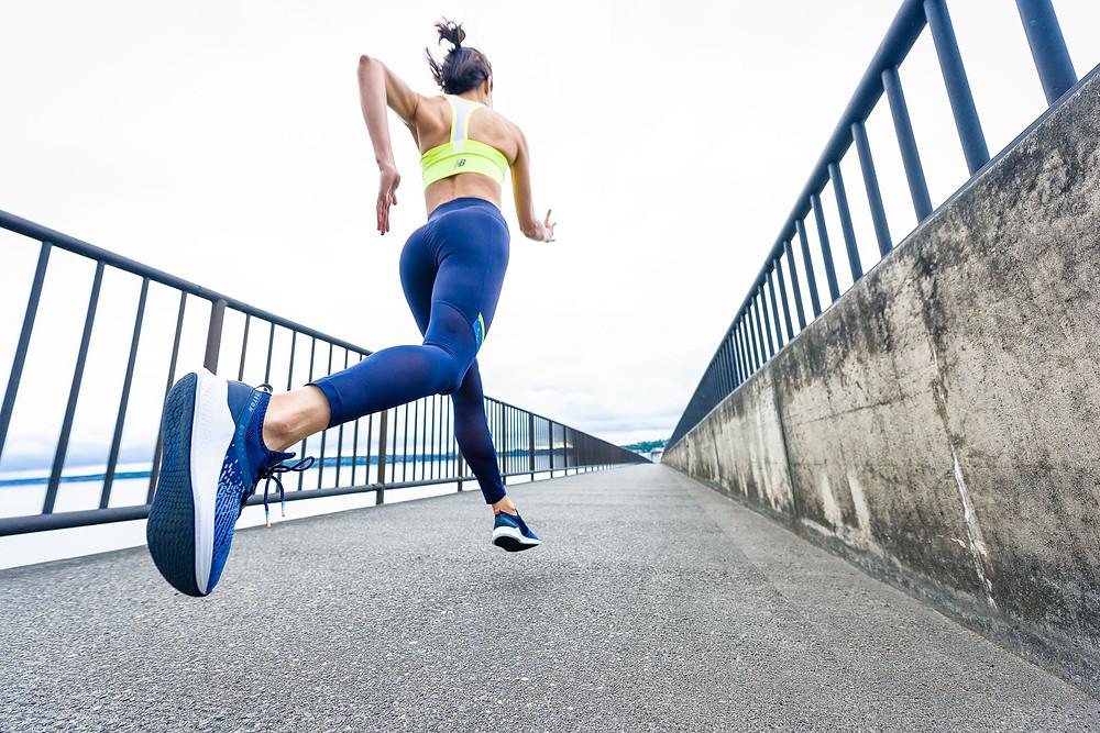 mujer runner