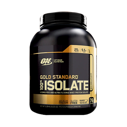 OPTIMUM NUTRITION GOLD STANDARD 100% ISOLATE (5LB)