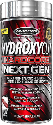 MUSCLETECH HYDROXYCUT HARDCORE NEXT GEN (100caps)