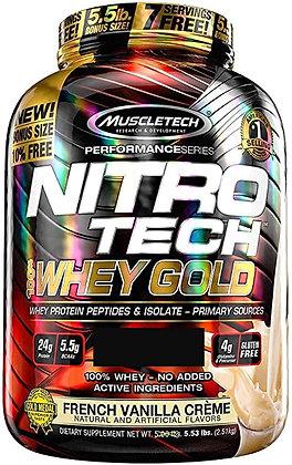 MUSCLETECH NITRO-TECH WHEY GOLD (5,5LB)