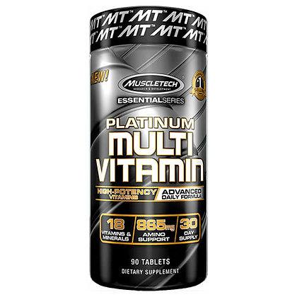 MUSCLETECH PLATINUM 100% MULTI VITAMIN (90caps)
