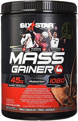 MUSCLETECH SIX STAR MASS GAINER (4LB)